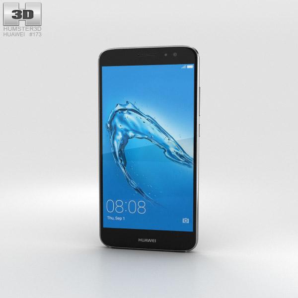 3D model of Huawei Nova Plus Titanium Grey