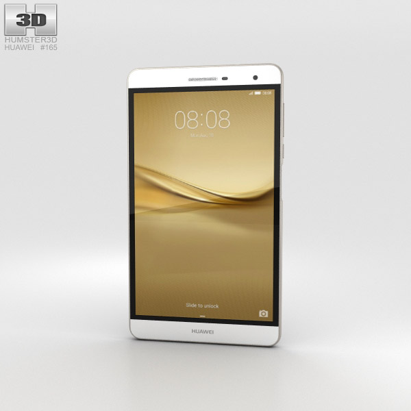 Huawei MediaPad T2 7.0 Pro Gold 3D model