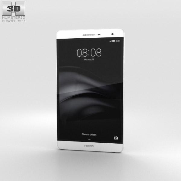 Huawei MediaPad T2 7.0 Pro White 3D model