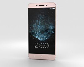 3D model of LeEco Le Pro 3 Rose Gold
