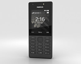 3D model of Nokia 216 Black