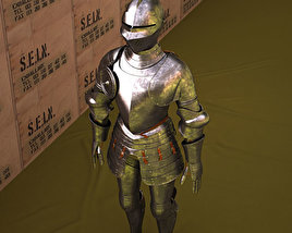 3D model of Plate armour