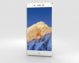 3D model of ZTE Nubia N1 Gold