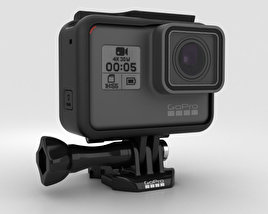 3D model of GoPro HERO5