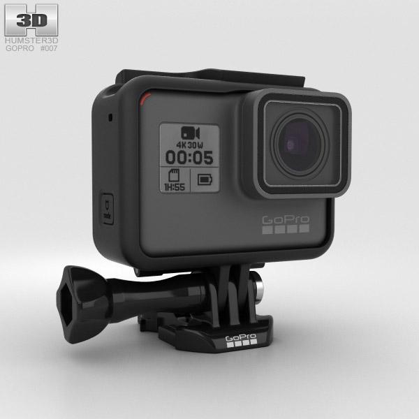GoPro HERO5 3D model
