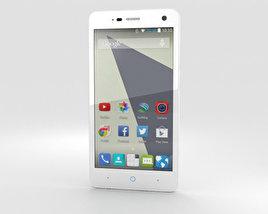 ZTE Blade L3 White 3D model