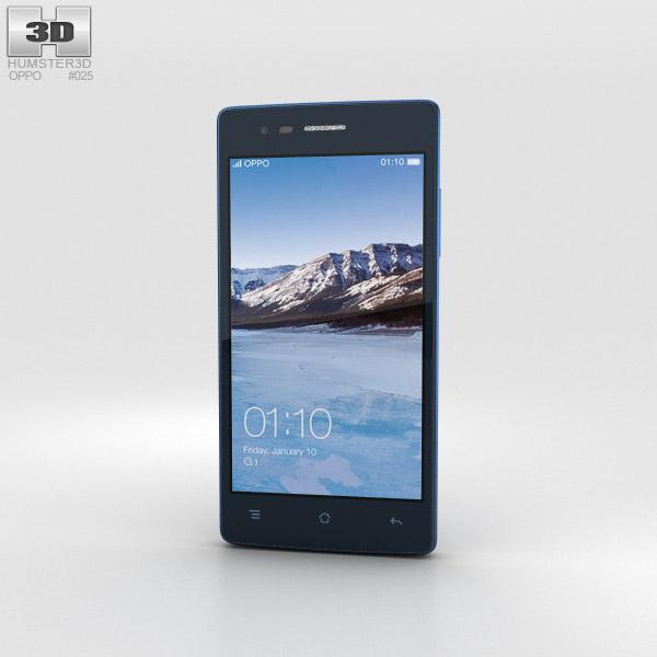3D model of Oppo Neo 5 Blue