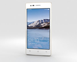 3D model of Oppo Neo 5 White