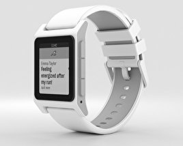 3D model of Pebble 2 White