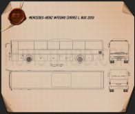 Mercedes-Benz Integro L 2013 Blueprint