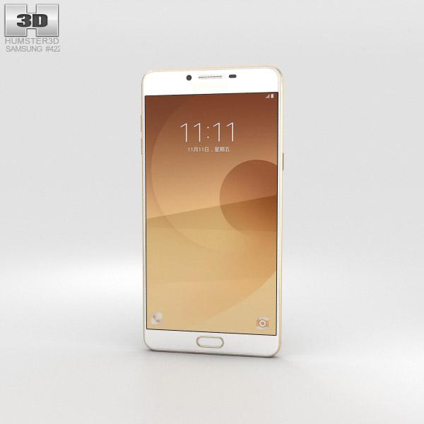 Samsung Galaxy C9 Pro Gold 3D model