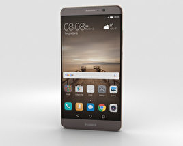3D model of Huawei Mate 9 Mocha Brown