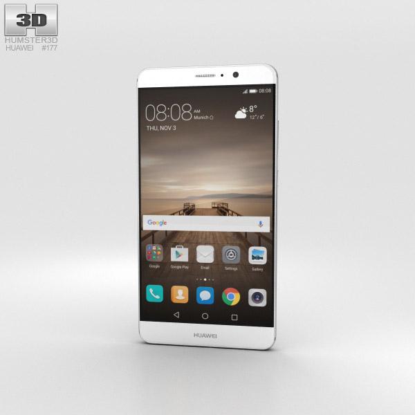 Huawei Mate 9 Moonlight Silver 3D model