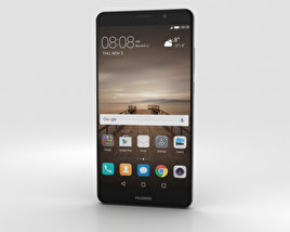3D model of Huawei Mate 9 Space Gray