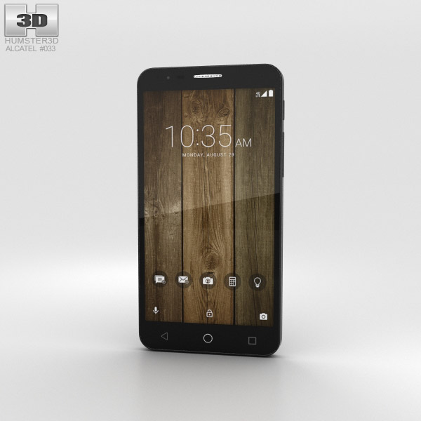 3D model of Alcatel Fierce 4 Black