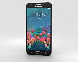 Samsung Galaxy J5 Prime Black 3D model