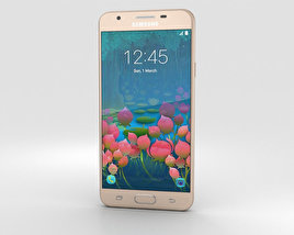 3D model of Samsung Galaxy J5 Prime Gold