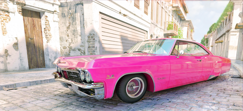 1965 Impala Lowrider 3d art