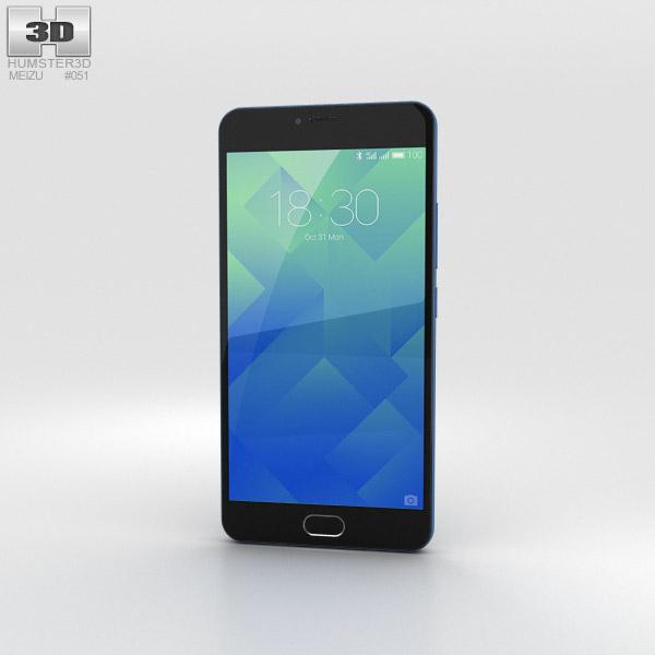Meizu M5 Sapphire Blue 3D model