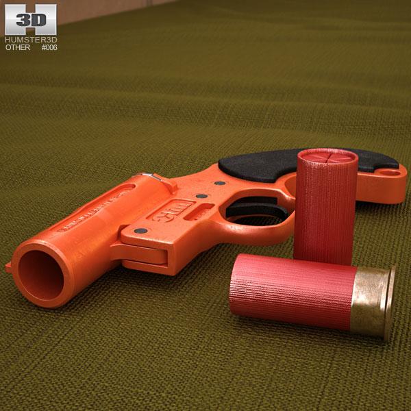 Olin Flare Gun Modello 3D