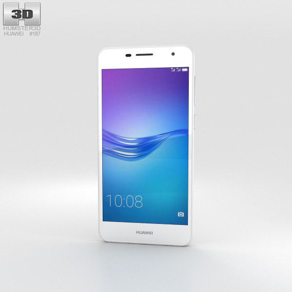 3D model of Huawei Enjoy 6 White