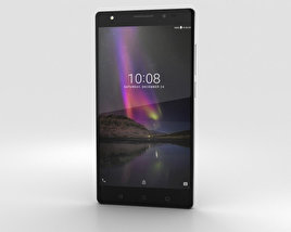 3D model of Lenovo Phab 2 Plus Gunmetal Grey