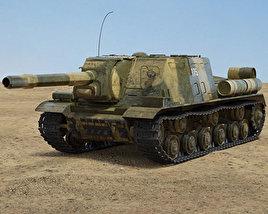 3D model of ISU-152