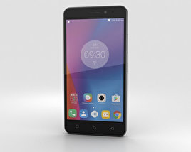 3D model of Lenovo K6 Dark Grey