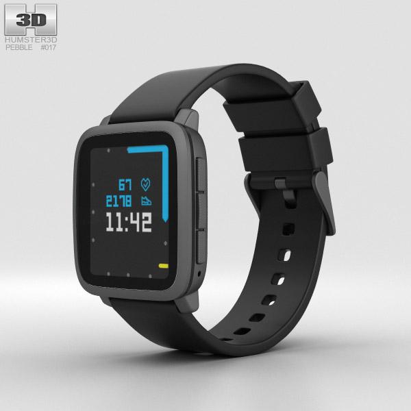 3D model of Pebble Time 2 Black