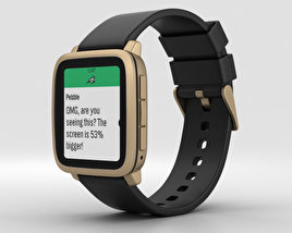 3D model of Pebble Time 2 Gold