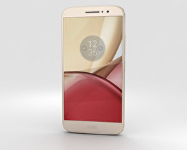 3D model of Motorola Moto M Gold