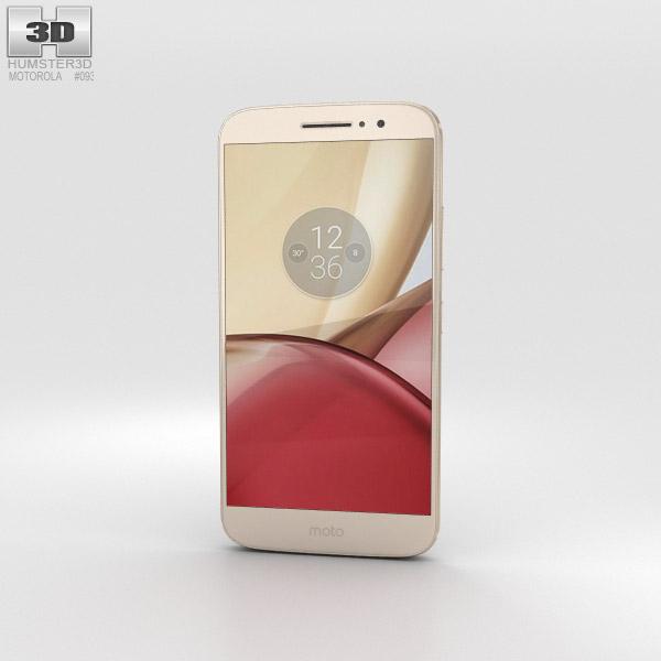 Motorola Moto M Gold 3D model