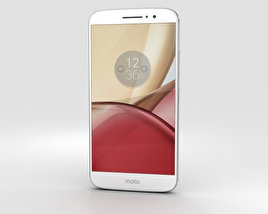 3D model of Motorola Moto M Silver