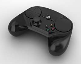 3D model of Steam Controller