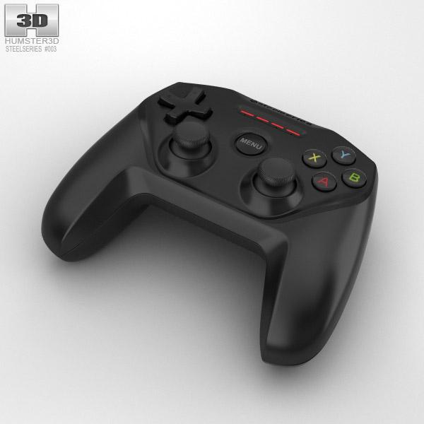 3D model of SteelSeries Nimbus Wireless Gaming Controller
