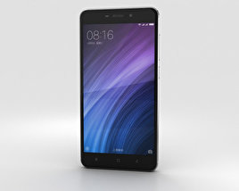3D model of Xiaomi Redmi 4 Dark Gray