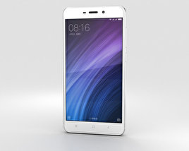 3D model of Xiaomi Redmi 4 Silver