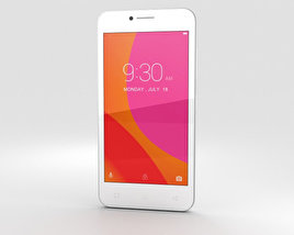 3D model of Lenovo A Plus Pearl White