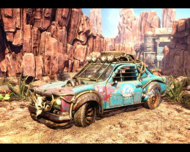 Desert Express - Ford Escort MKI