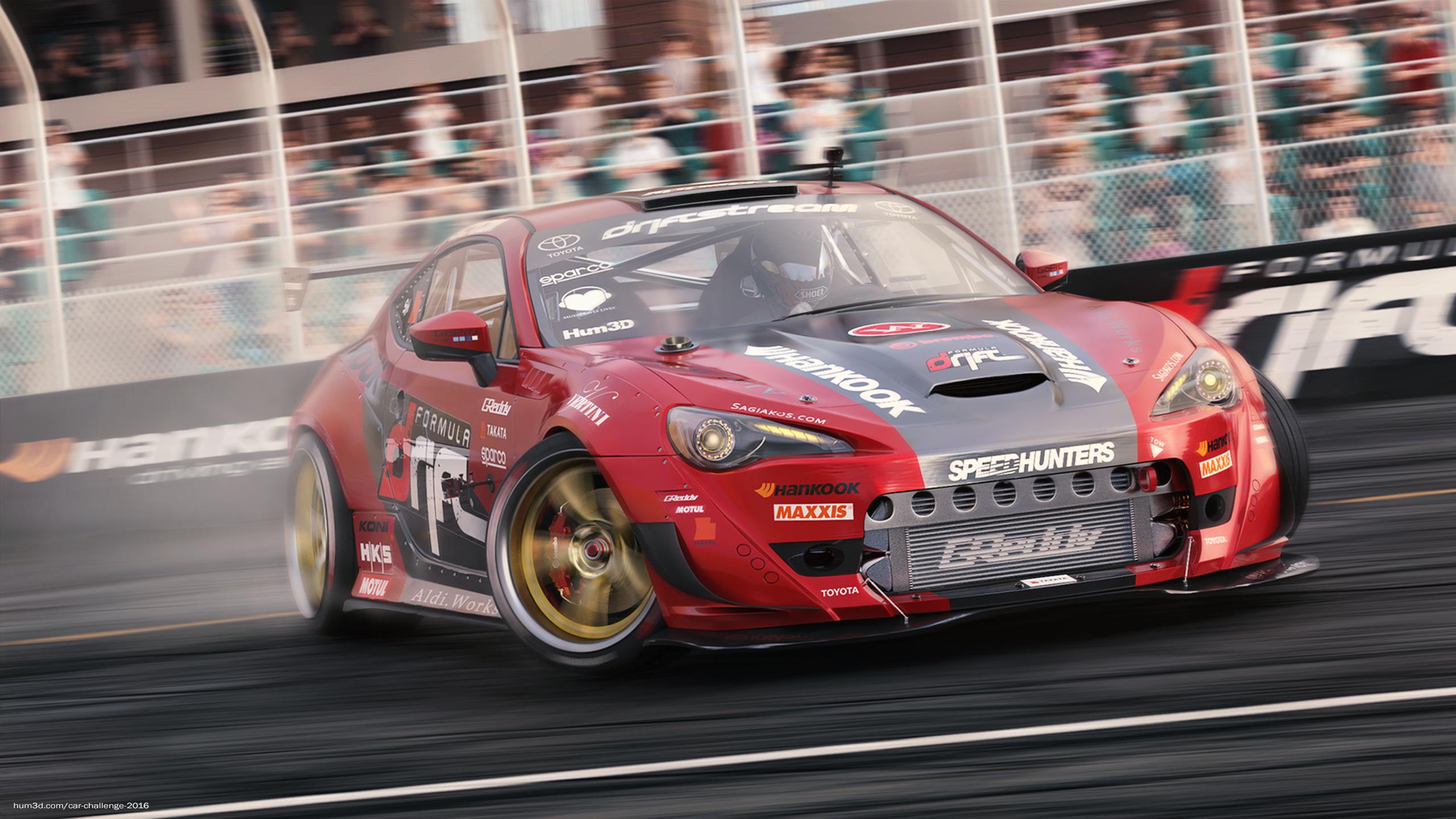 Toyota GT86 - Formula Drift 3d art