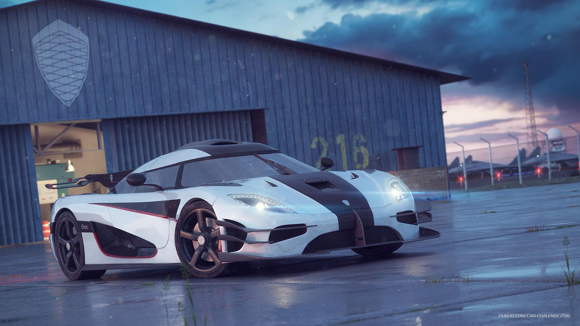 Koenigsegg Agera 3d art