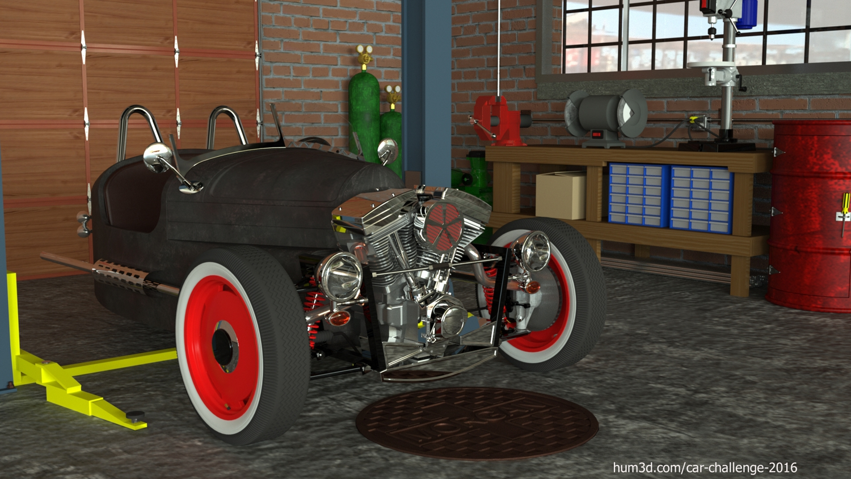 Rat Rod Morgan 3d art