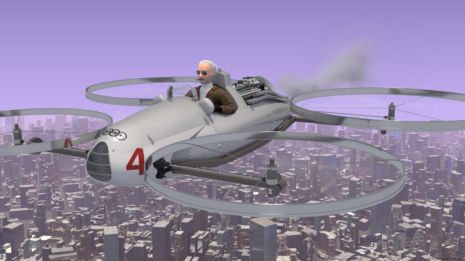 Aerotuning 3d art
