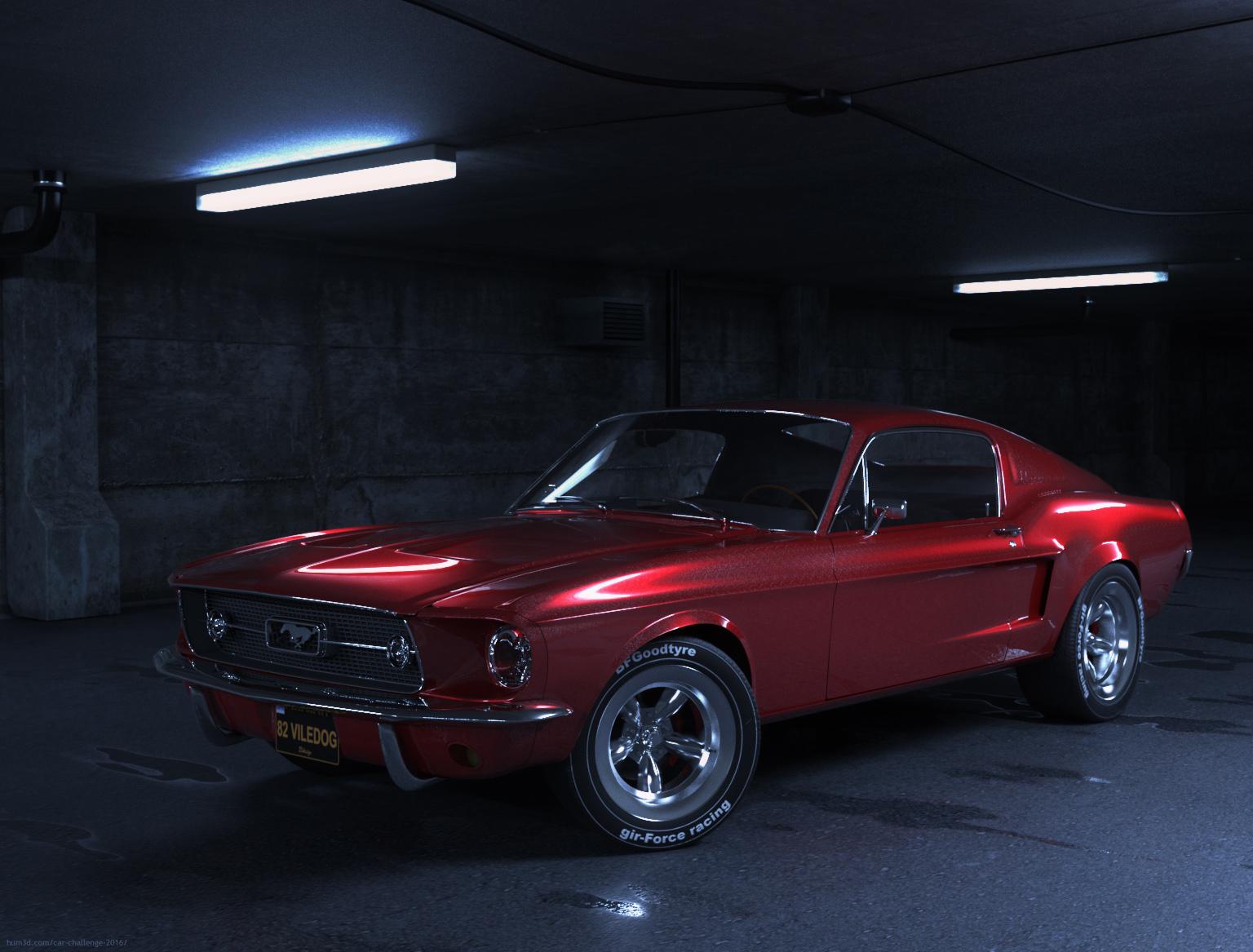 Best car ever! 3d art