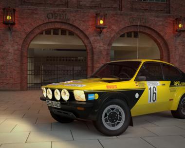 Kadett C Coupé Rally Version 1974
