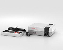 Nintendo Nes Classic Edition 3D model