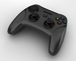 3D model of SteelSeries Stratus XL Controller