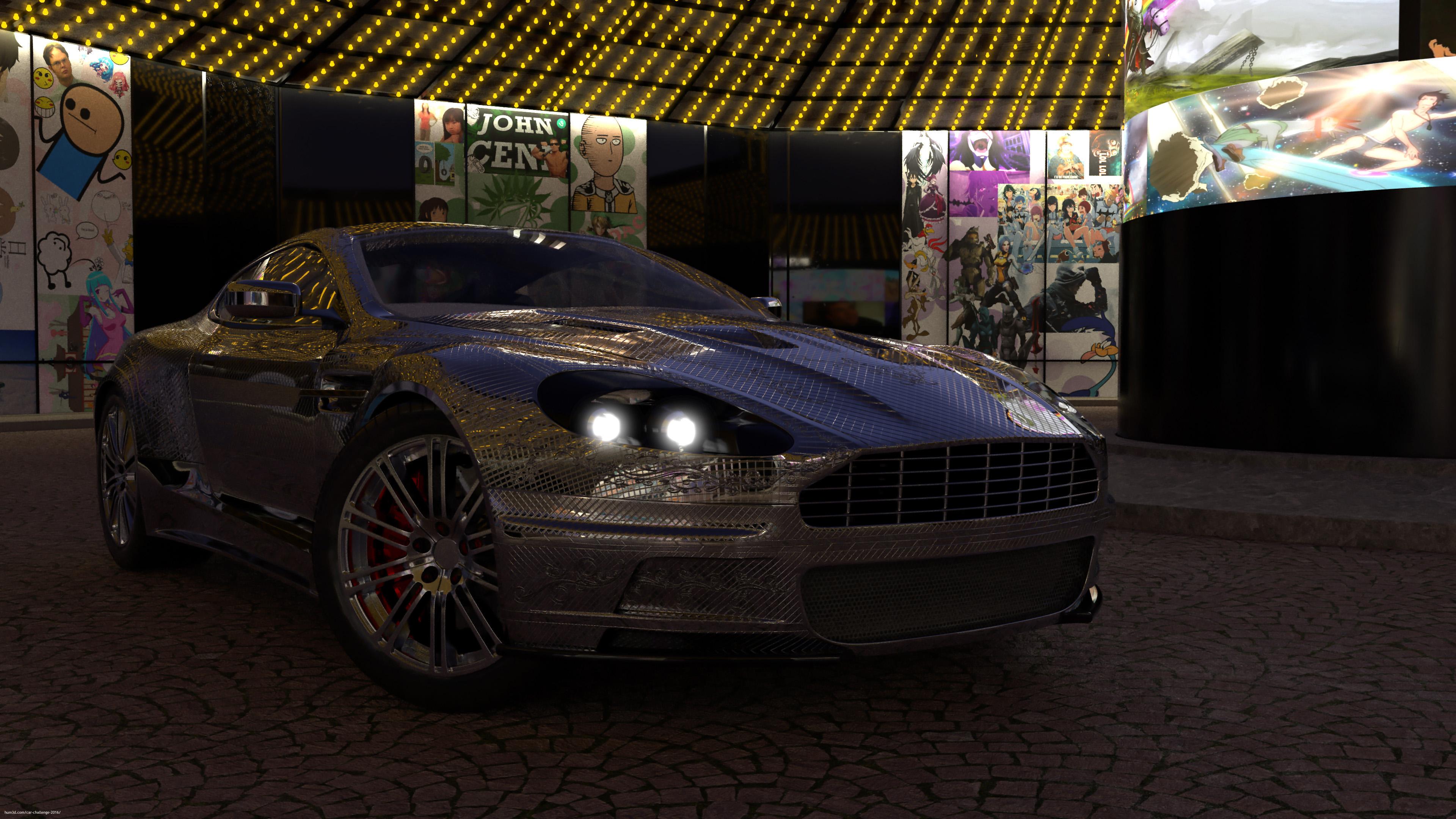 Aston Martin @ meme Central 3d art