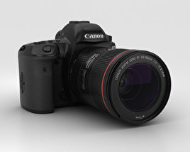 3D model of Canon EOS 5D Mark IV
