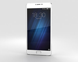 3D model of Meizu U10 White